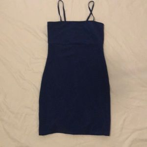 Urban outfitters royal blue mini dress